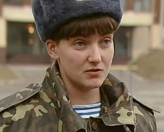 Nadiya Savchenko - Savchenko is a Ukrainian military pilot and a former first lieutenant of the Ukrainian Air Force. She resigned after being elected as a member of the Ukrainian parliament.