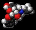 Naltriben molecule spacefill.png