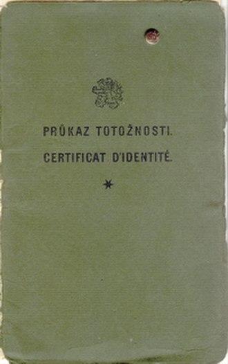 Nansen passport - Image: Nansen cs cover