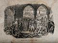 Napoleon Bonaparte visiting plague-stricken soldiers at Jaff Wellcome V0010632.jpg
