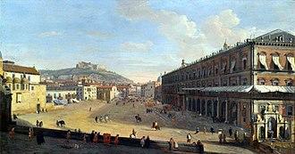 Regina Diaz - Naples c. 1700 by Caspar van Wittel