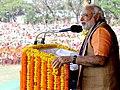 Narendra Modi addressing Vijay Sankalp Samabesh in Sambalpur, Odisha.jpg