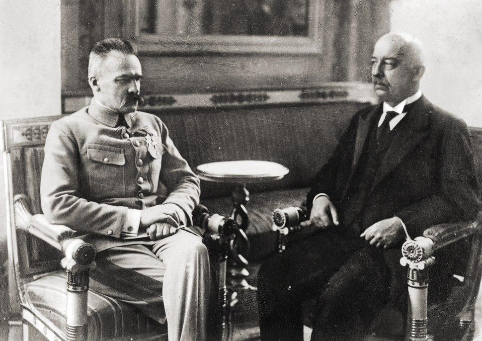 Narutowicz Piłsudski 1922