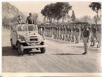 Nasrullah Khan Khattak - Nasrullah Khan Khattak in Peshawar (1973)