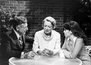 Nat Polen - Cast of One Life to Live, L-R: Nat Polen, Peggy Wood, and Amy Levitt