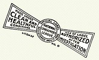 National Consumers League - National Consumers League Label - 1899