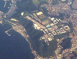 National Defense Academy of Japan - National Defense Academy of Japan aerial view