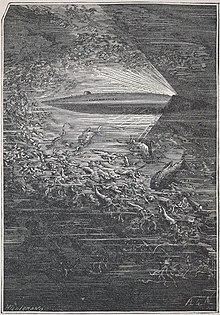 «Наутилус» в представлении художника Невиля. « 10574652534