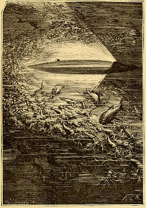 Twenty Thousand Leagues Under the Sea - The Nautilus as imagined by Jules Verne.
