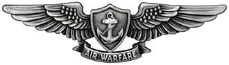 Enlisted Aviation Warfare Specialist insignia - Enlisted Aviation Warfare Specialist