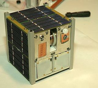 CubeSat Miniaturized satellites made up of cubic units