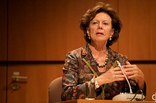 Neelie Kroes NOG Brussel