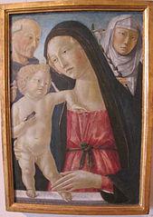 Madonna col Bambino tra san Bernardino e san Catarina