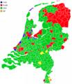Netherlands municipalities results 2006.png