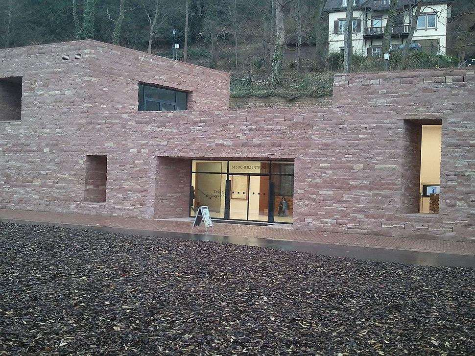 Neues Besucherzentrum Schloss Heidelberg