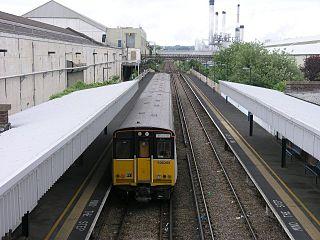 New Hythe railway station