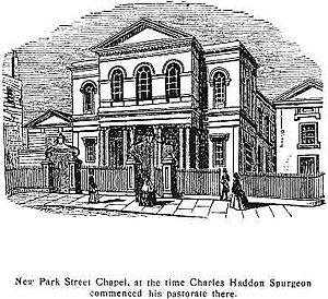 New Park Street Chapel - New Park Street Chapel, ca. 1854