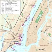New York City Railroads ca 1900