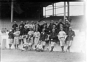 "History of the New York Yankees - The 1913 squad, the first that went by the name ""Yankees"""