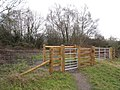 New gates for Tadley Common - geograph.org.uk - 1711840.jpg
