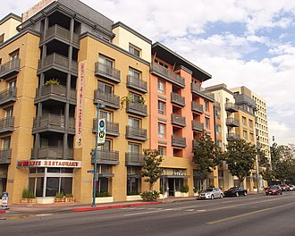 "North Hollywood, Los Angeles - High-density property development in ""NoHo"""