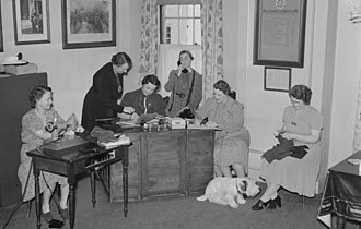 Imperial Order Daughters of the Empire - IODE volunteers during the Second World War.