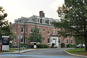 Newton-Wellesley Hospital - One of the hospital's historic buildings