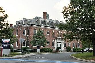 Newton-Wellesley Hospital - One of the hospital's historic buildings