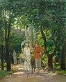 Nicolae Vermont - Plimbare in Cismigiu.jpg