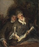Nicolas Lancret - Singing couple by candlelight 2016 NYR 11933 0158.jpg
