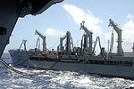 Nimitz stays on course, receives fuel. DVIDS98780.jpg