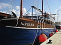 Nirvana ship at Obala Josipa Broza Tita, Umag, Croatia - panoramio (1).jpg