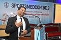 Nisith Ranjan Chowdhury Delivering Lecture - Quality Medical care - SPORTSMEDCON 2019 - SSKM Hospital - Kolkata 2019-03-17 3457.JPG