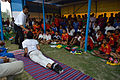 Nisith Ranjan Chowdhury Explains Bhujangasana Benefits - Football Workshop - Nisana Foundation - Sagar Sangha Stadium - Baruipur - South 24 Parganas 2016-02-14 1394.JPG