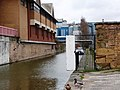 No access to the towpath - geograph.org.uk - 1802800.jpg