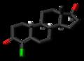 Norclostebol molecule skeletal.png