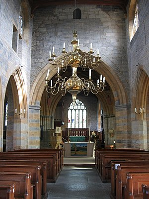 North Curry - Image: North Curry nave