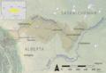 North Saskatchewan basin map.png