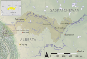 North Saskatchewan basin map.png