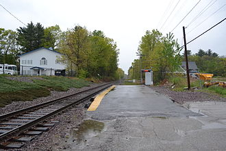 Haverhill Line - North Wilmington station reopened in 1979 along with the restoration of Haverhill service