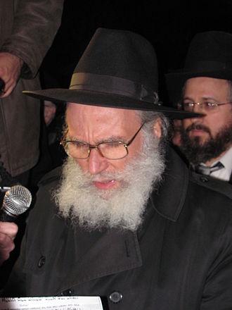 Nota Schiller - Rabbi Nota Schiller in 2011