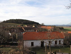 General view of the village