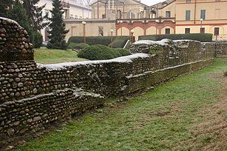 Novara - Roman walls in Novara