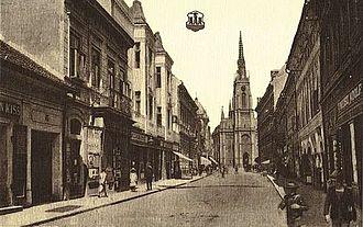 Stari Grad, Novi Sad - Image: Novi Sad 1920
