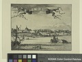 Novum Amsterodamum. View from the south issued 1671 (NYPL Hades-1783168-1650606).tiff