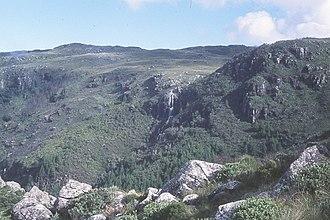 Mount Nyangani - Nyama Falls.