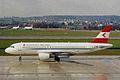 OE-LBN A320-214 Austrian A-l ZRH 20MAR99 (5864694862).jpg