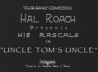 <i>Uncle Toms Uncle</i> 1926 film
