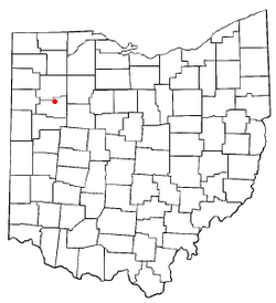 Location of Cairo, Ohio