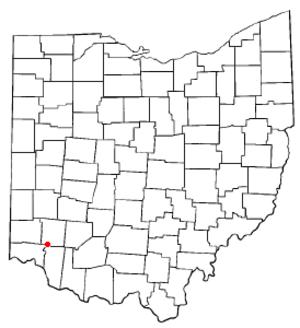 Loveland Park, Ohio - Image: OH Map doton Loveland Park
